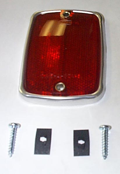 2016 Ford Bronco Price >> 1967-1969 Ford Bronco Rear Tail Light Reflector ...