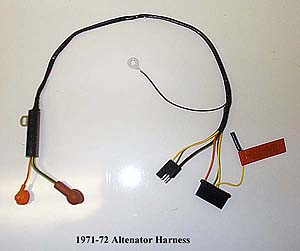 WIRALT7172 1966 1977 ford bronco alternator harness & motor harness F100 Wiring Diagram at reclaimingppi.co