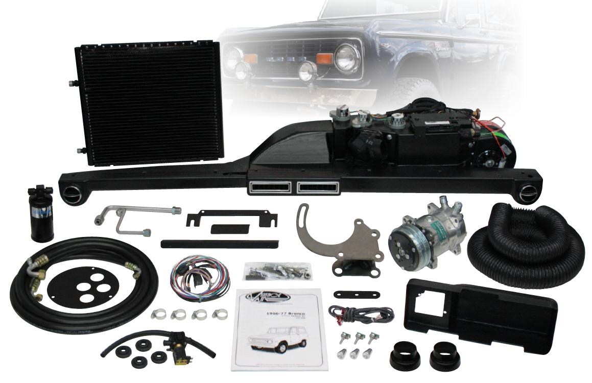 1966-1977 Ford Bronco Gen 4 Vintage AC Kit-Broncograveyard.com