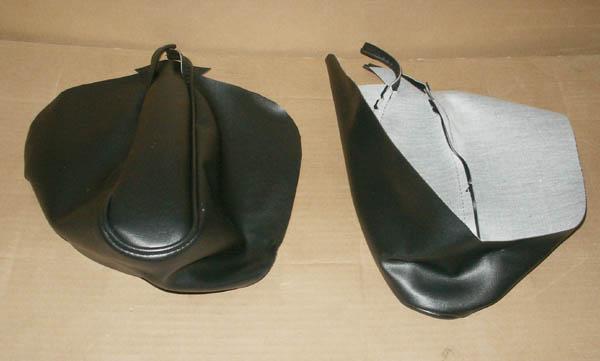 Rear Seat Armrest Covers Black Broncograveyard