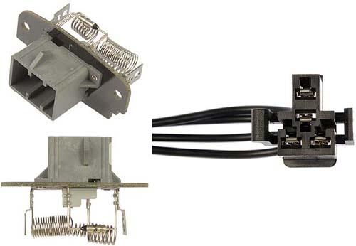 1995 2010 ford ranger blower motor resistor kit for Ford truck blower motor resistor