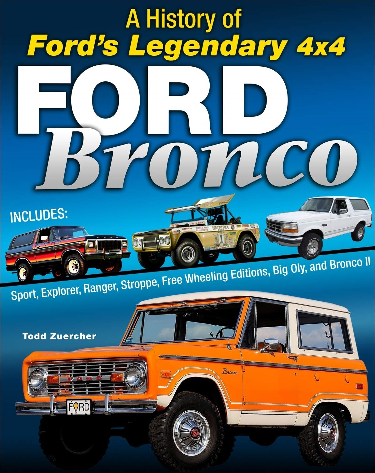Book, A History of Ford's Legendary 4x4