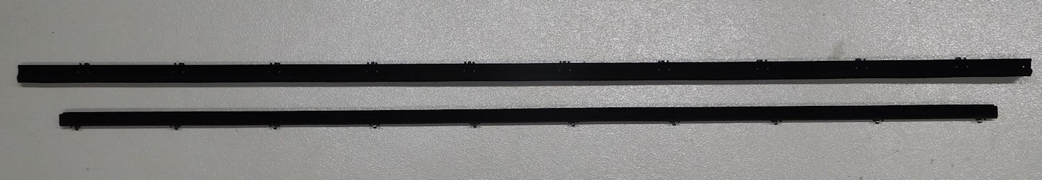 78-79 ford bronco tailgate weatherstrip, inner & outer