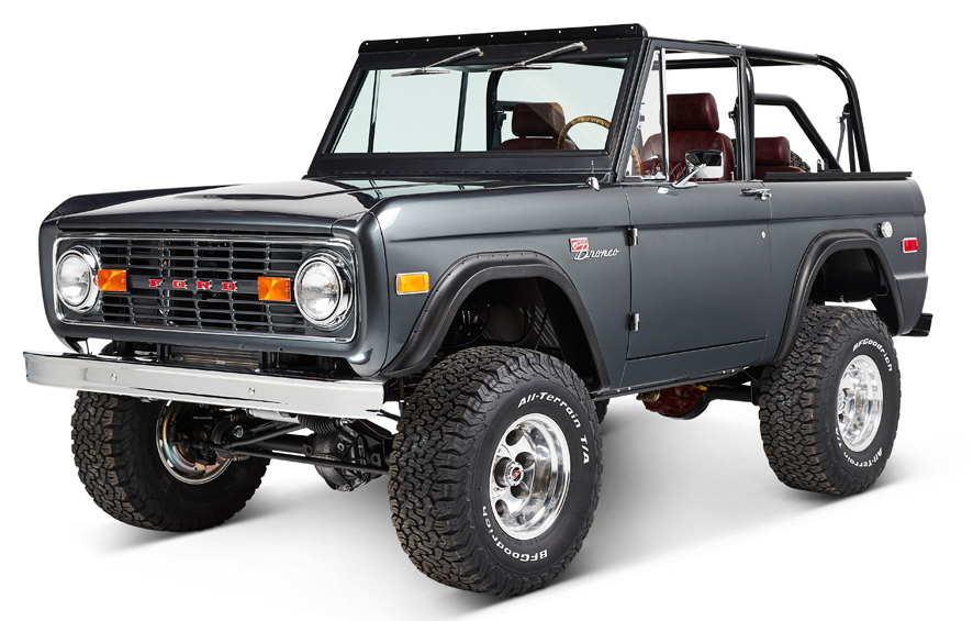 Early Ford Bronco/_Flexing 04 Classic/_ Sticker//Decal