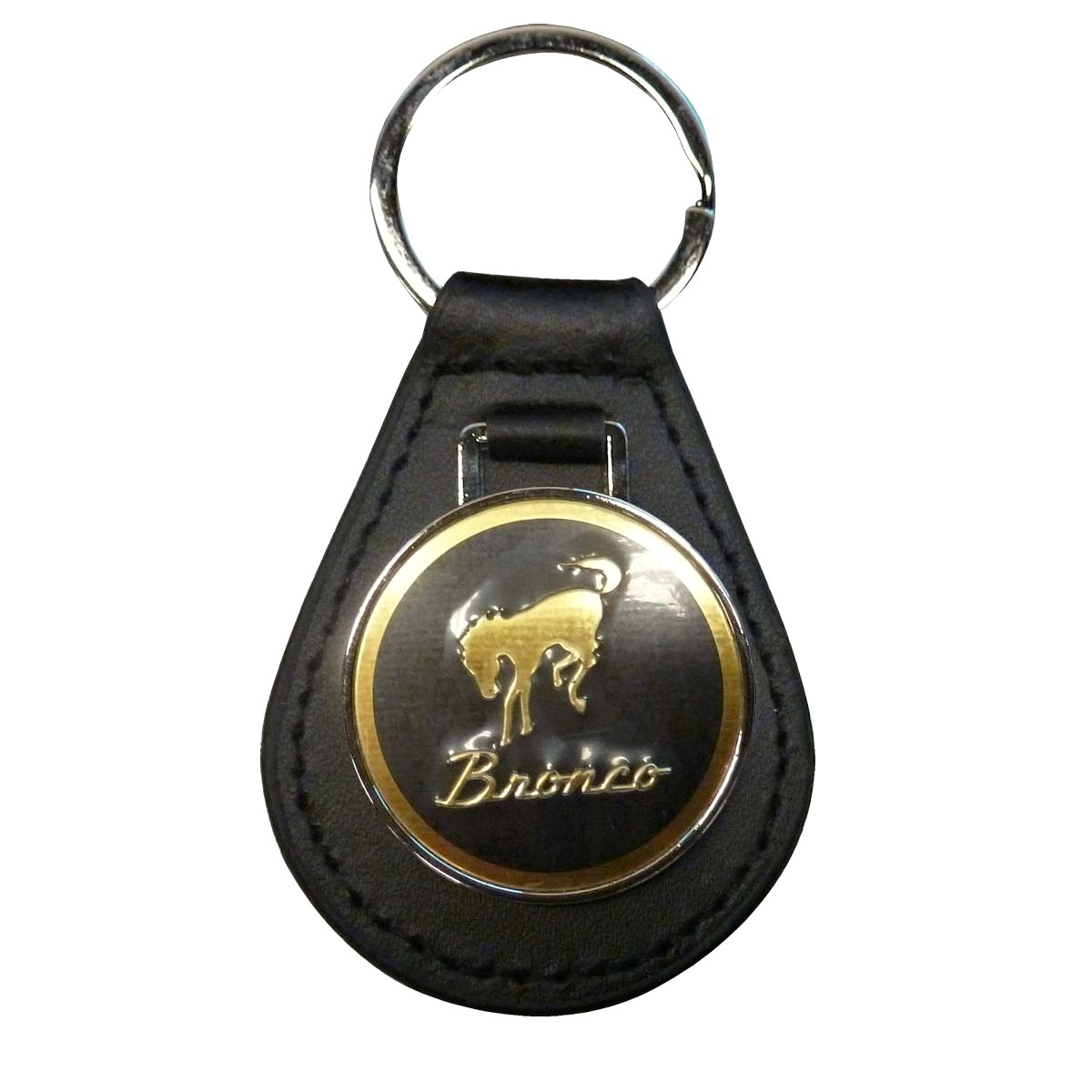 1966-1996 Ford Bronco Leather Key Chain Bronco