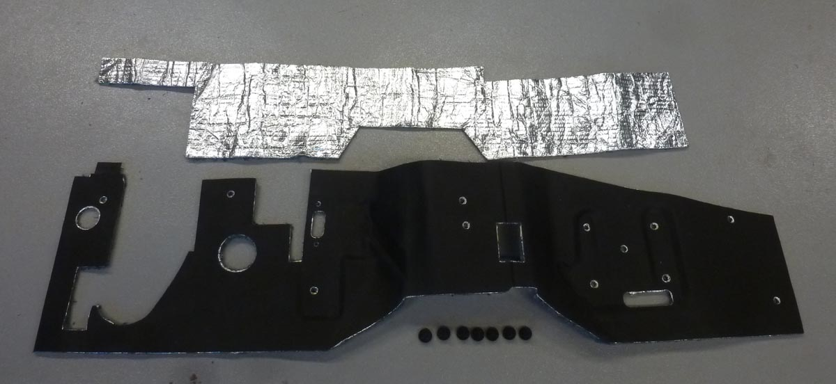 66 To 77 Ford Bronco Firewall Insulation New Design