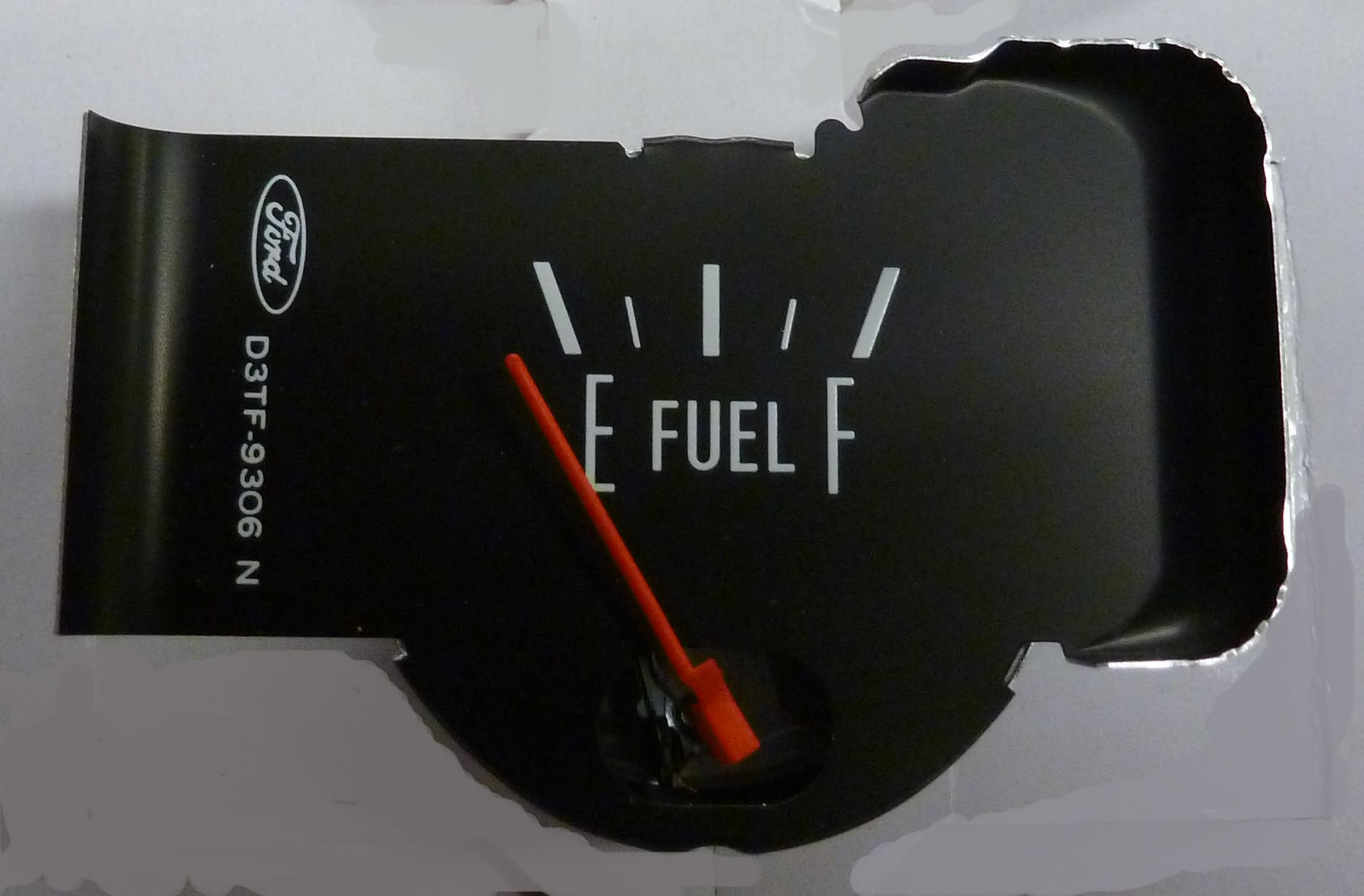 Early Bronco Parts >> 1973-1977 Ford F Series Truck Fuel Gauge With Red Needle ...