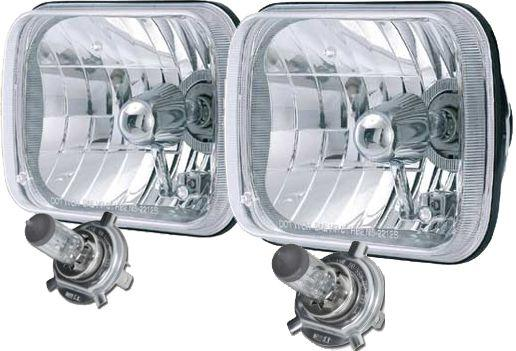1978-1979 Ford Bronco & Ford Truck H4 Square Headlight Conversion