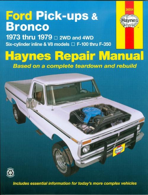 haynes auto repair manual download