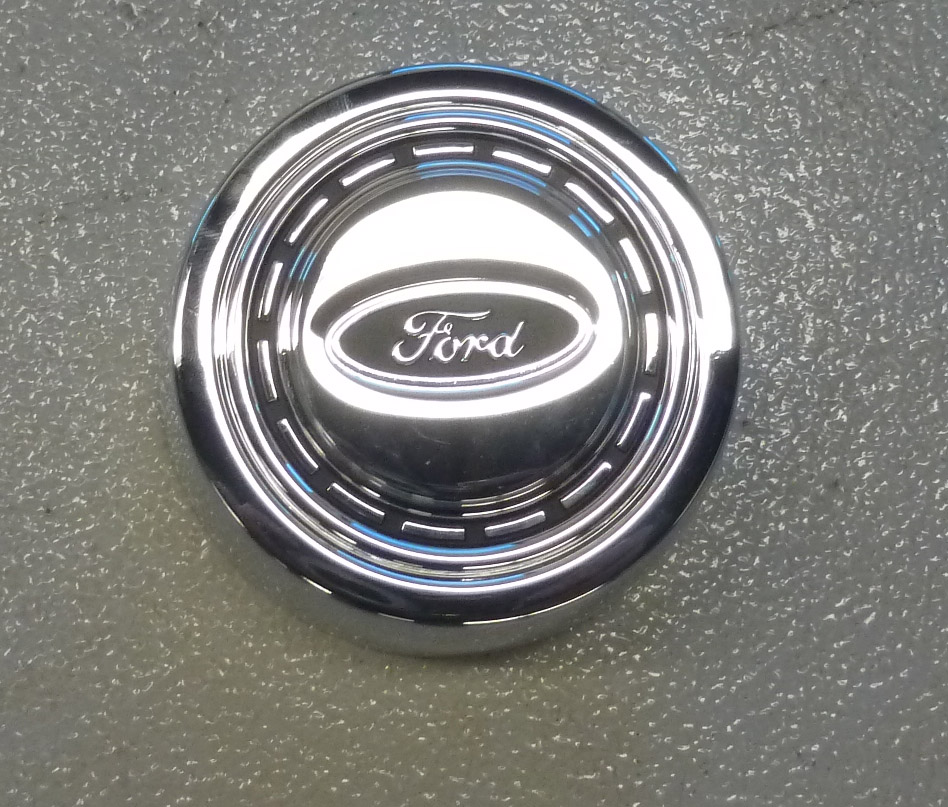 1966-1973 Ford Bronco Chrome Finish Horn Button