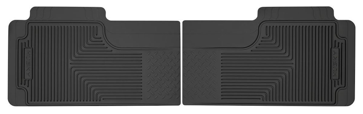 80-96 Husky Rear Seat Floor Mats, Pair