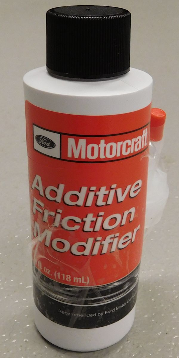 Ford Motorcraft® 4 oz Additive Friction Modifier for Limited Slip Posi