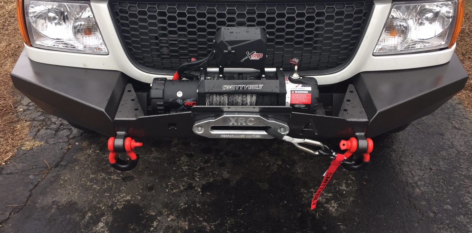 1998-2011 Ranger Elite Plain Front Winch With D-Rings