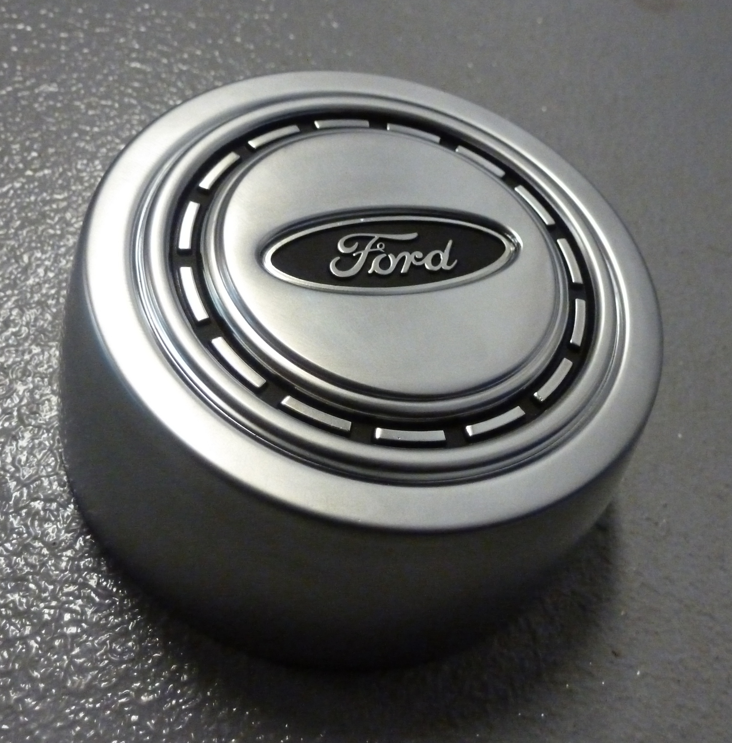 1966-1973 Ford Bronco Satin Finish Horn Button