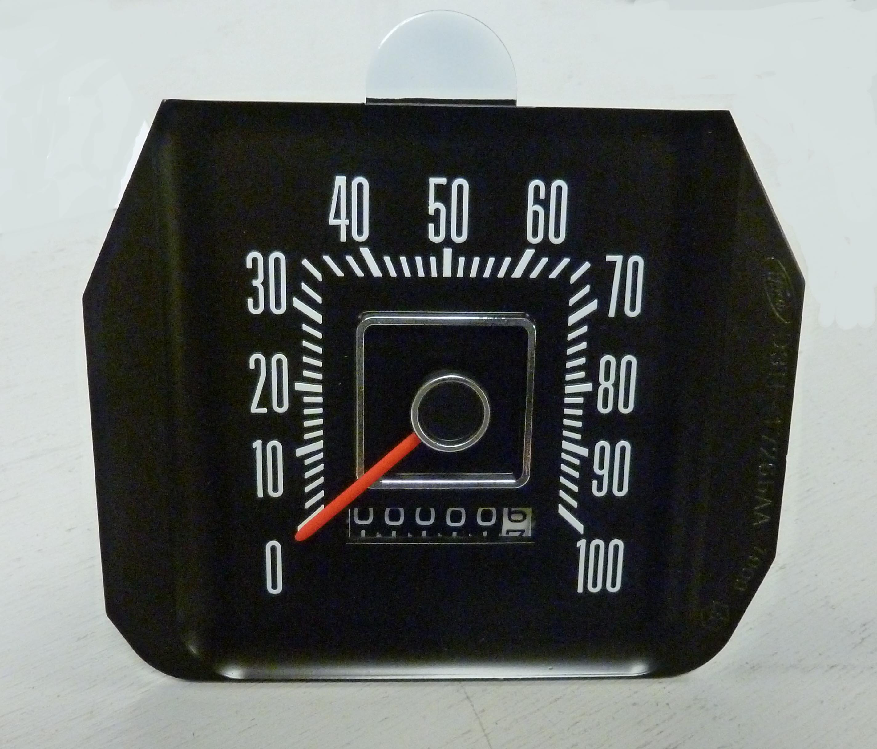 1973 2 Ford F Series Truck Speedometer With Red