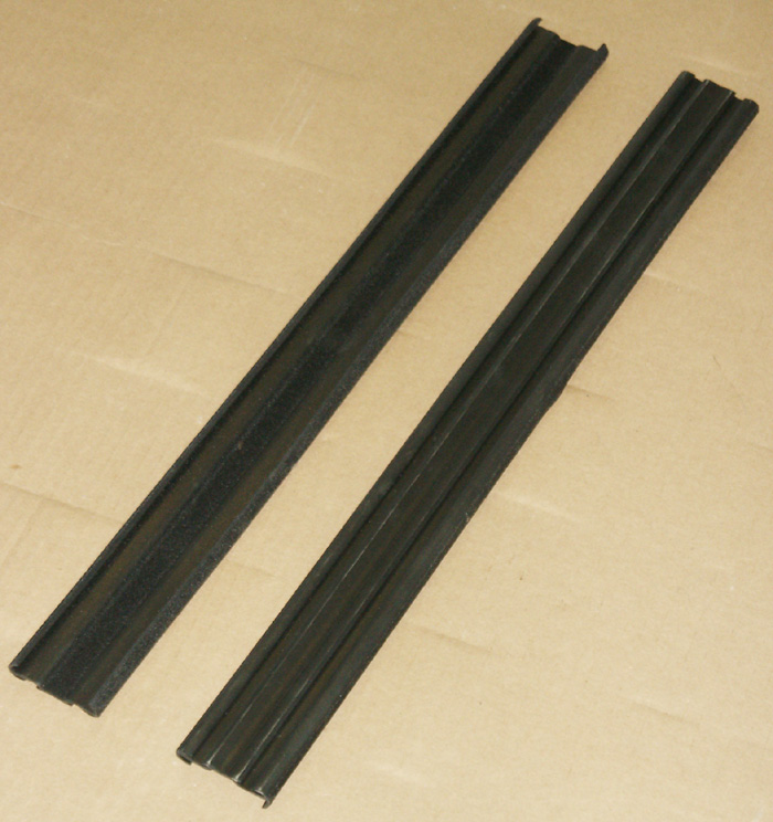 1980-1996 ford bronco tailgate track glass run channels