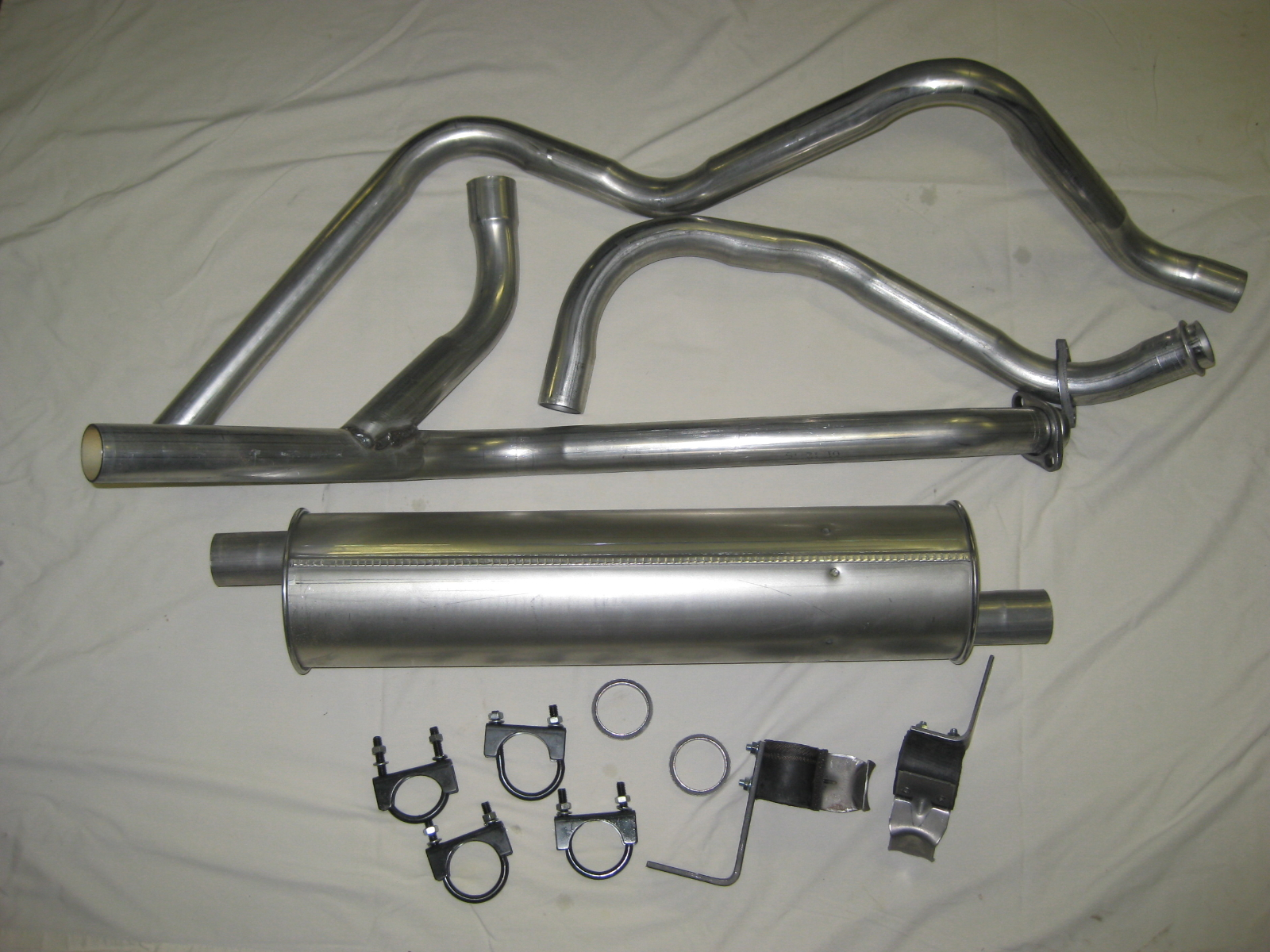 1966 77 Ford Bronco V8 289 302 Stock Exhaust Kit Graveyard Engine And Transmission Assembly Diagram It Is A New Month Which Means Time To Showcase Some Products Here At We Are Excited Tell You All About This Complete
