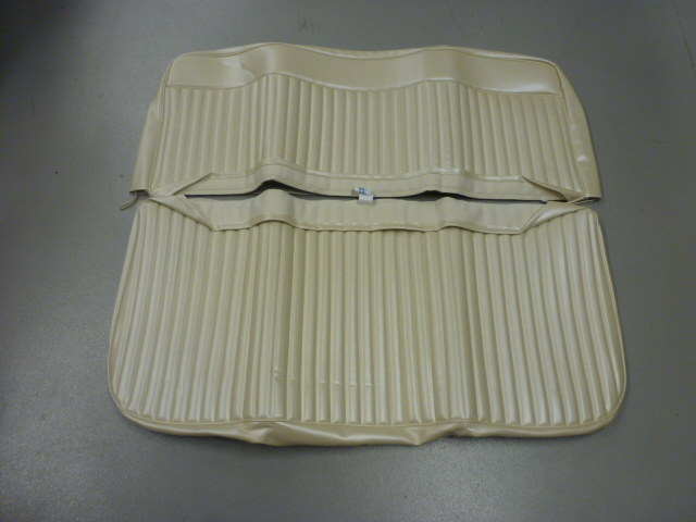 Front Bench Seat Cover 1966 73 Bright White